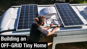 OFF GRID Solar Instalace pro můj malý domov Převod van