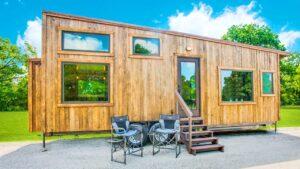 Ohromující krásné Thoreau od Indigo River Tiny Homes | Krásný malý dům