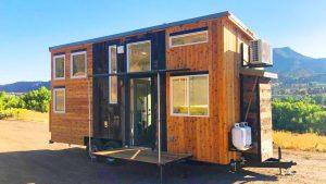 Ohromující krásný Timberwolf by Rocky Mountain Tiny Houses Krásný malý dům