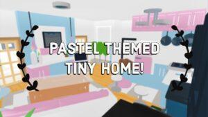 Přijměte mě Pastelově motivovaný malý domeček Speed Build + Tour !! Snadné vytváření hacků !! (Roblox)