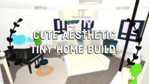 Přijměte mě roztomilé estetické malé domácí dům Speed Build + Tour !! Snadné vytváření hacků !! (Roblox)