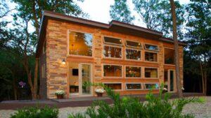 Perfektní krásná chalupa malý domek s mnoha lůžky pro rodinu ze 7