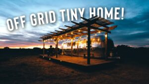 Prohlídka mimo pouštní distribuční síť Grid Desert! | Full Airbnb Tiny Home!