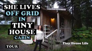 Proměnila suchou kabinu v krásný malý dům - prohlídka - na Aljašce