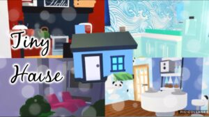 ROBLOX ADOPT ME || Tiny House Build Challenge