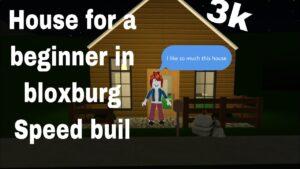 Rychlost postavit malý dům pro začátečníky v Bloxburgu.