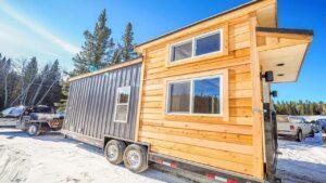The Crow Off Grid Cabin Edition od Blackbird Tiny Homes Životní Design Pro Malý Dům