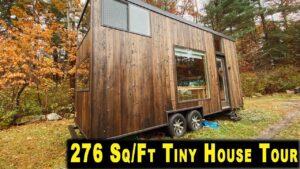 Tiny House Tour   Úžasné Barové Okno A Panoramatické Loft