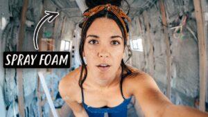 VAN LIFE BUILD: Izolační malý mramorový dům