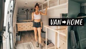 VAN LIFE BUILD: Rámování našeho Off-Grid Tiny House