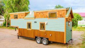 Vlastní 28 Gooseneck Tiny House na kolech od Mitchcraft Tiny Homes Za poznáním malého domu