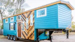 Vlastní 32 Gooseneck Tiny House na kolech od Mitchcraft Tiny Homes Za poznáním malého domu
