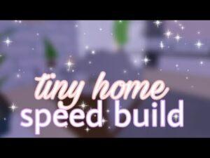 malá domácí rychlost stavět ♡ ︎ ~ adoptme ~ základnílasi ♡ ︎
