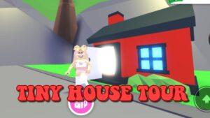 roblox: TINY HOUSE TOUR * VAMPIRE THEMED *