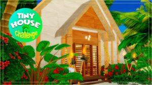 sims 4 | SPOLUPRÁCE S TALL HOUSE CHALLENGE Kabina trojúhelníku 🌴