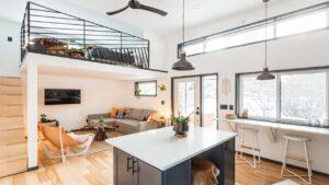 Úžasný luxusní dům Hiatus Tiny od společnosti Tiny Smart House Malý dům velké bydlení