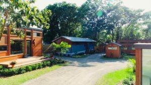 Útěk Tiny House Community Postavený poblíž Tampa na Floridě