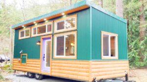 24 malých domků Shookum na kolech od Westcoast Outbuildings | Životní Design Pro Malý Dům