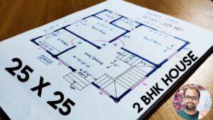 25 x 25 malý dům plán II 25 x 25 dům mapa II 625 sqft domů design