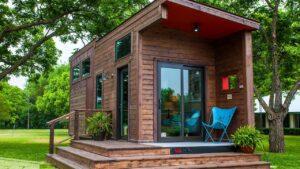 Absolutely Ohromující Single Loft Tiny House od Texzen Tiny Homes