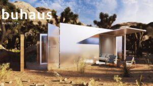 Buhaus: Luxe Container Tiny Home Design pro oblasti náchylné k požáru