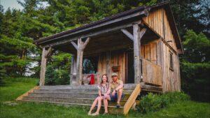 CESTOVNÍ CESTOVNÍ KURZY v Kanadě | TINY HOUSE BYDLENÍ Méně než 1 hodinu od Toronta v Ontariu!