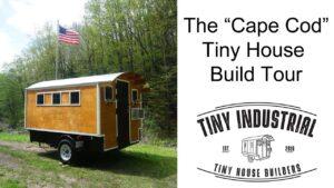 """""""Cape Cod"""" Cikánský vůz Tiny House Camper od Tiny Industrial - Video Tour"""