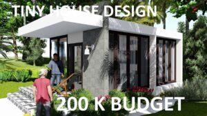 DESIGN TINY HOUSE 200 K ROZPOČET