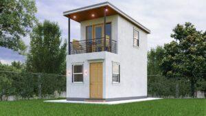 Design malého domu (3x6 metr)