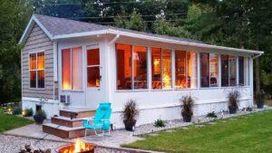 Jednoduchý krásný model Breckenridge Park na prodej $ 45K   Malý dům velké bydlení