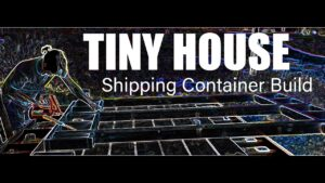 Jednoduchý způsob, jak postavit malý kontejnerový kontejner. Epizoda 1