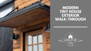Moderní malý dům exteriér průchod | Osvoboďte malé domovy
