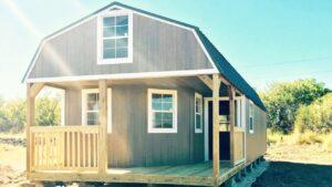 Nádherná ohromující kabina na prodej v Texasu Malý dům velké bydlení