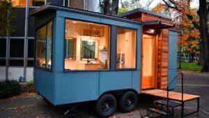 Nejkrásnější maličký dům Verve Lux z Tru Form Tiny Malý dům velké bydlení