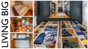 Nejlepší úložné nápady pro malé domovy