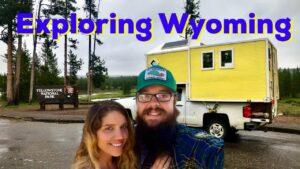 Objevování Wyomingu v našem TRUCKBED TINYHOUSE