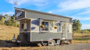 Ohromující krása Zcela nový malý domek plně vybavený   Krásný malý dům
