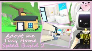 OptPřijměte mě Tiny Home Estetický moderní design🏠 Rychlost Sestavte část 2 pomocí @Poetic Demon Roblox