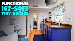 Plně funkční 167 čtverečních stop malý dům!