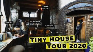 Pobyt v malém domě v Portlandu Oregon změnil moji mysl   Tiny House Tour 2020