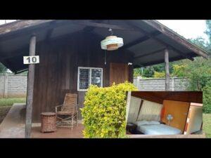 Prohlídka Drobného domu / dřevěná chata / Zahrada koření Airbnb / Nanyuki