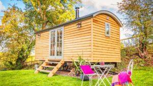 Rekreační dům Duck Shepherd's Hut Vacation Small v Somersetu | Životní Design Pro Malý Dům