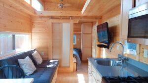 Rustikální nádherný útěk XL cestovatel malý dům na prodej Krásný malý dům