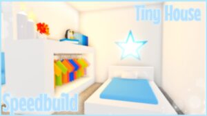 💙SPEEDBUILD - TINY HOUSE BLUE💙