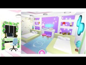 Sesterský roztomilý pokoj || Speed Build || Tiny Home || Přijmi mě || Roblox ~