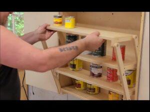 Skládací skříň pro kutily pro malé domovy a život Van