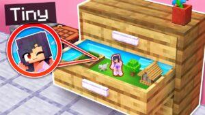 Skryté TINY SPOT uvnitř mého Minecraftu!