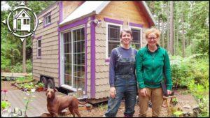 TINY HOUSE Postaveno Cenově dostupné w / netoxické regenerované materiály