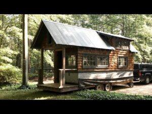 TINY HOUSE - Zastřešení & Rambling - Square Inch