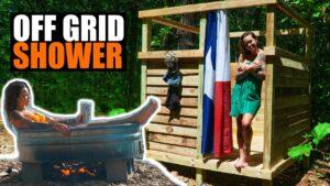 Tiny House OFF GRID Sprcha / řeka Vířivka - Self Reliance - Alternative Living